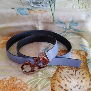 Salvatore Ferragamo Reversible Belt.